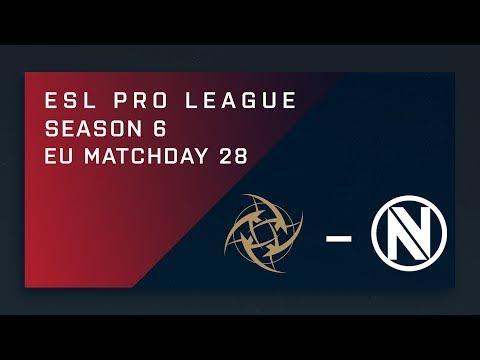 CS:GO: NiP vs. EnVy - EU Day 28 - ESL Pro League Season 6