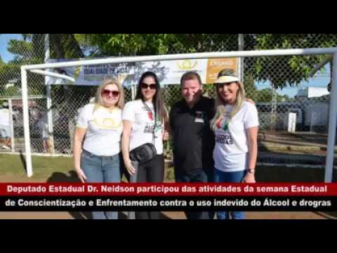 DR. NEIDSON PARTICIPOU DAS ATIVIDADES DA SEMANA DE CONSCIENTIZAÇÃO E ENFRENTAMENTO CONTRA O USO INDEVIDO DO ÁLCOOL E DROGAS