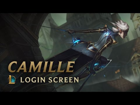 Camille, the Steel Shadow | Login Screen - League of Legends