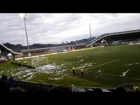 """""""Salida Los Del Sur vs Santiago Wanderers"""" Barra: Los del Sur • Club: Deportes Puerto Montt"""
