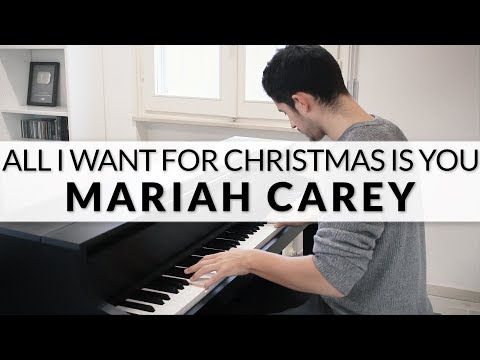 Mariah Carey - All I Want For Christmas Is You | Piano Cover - Francesco Parrino