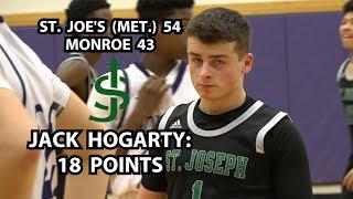 St. Joes (Metuchen) 54 Monroe 43 Boys Basketball | Jack Hogarty 18 Points!