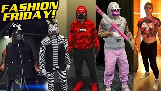 GTA Online FASHION FRIDAY - 25 NEW OUTFITS FROM THE IMPORT/EXPORT DLC