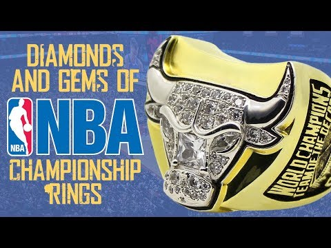 The Diamonds & Gems of  NBA Championship Rings