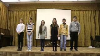 КВН МБОУ Богородская гимназия 5-ые классы. Концерт посвященный 23 февраля.