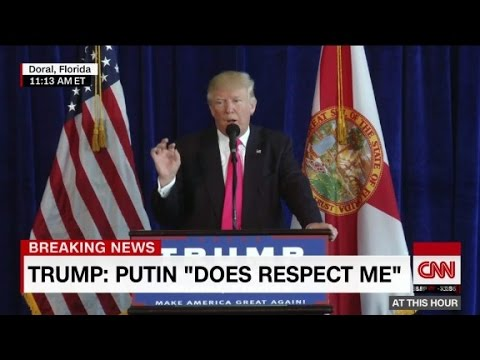 Donald Trump directly addresses Russia