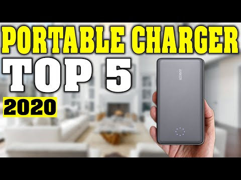TOP 5: Best Portable Charger 2020