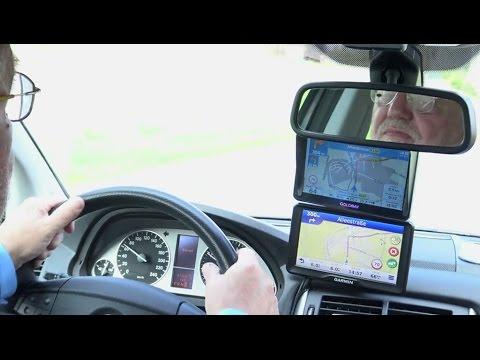 Navigationsgeräte-Vergleich in der Praxis