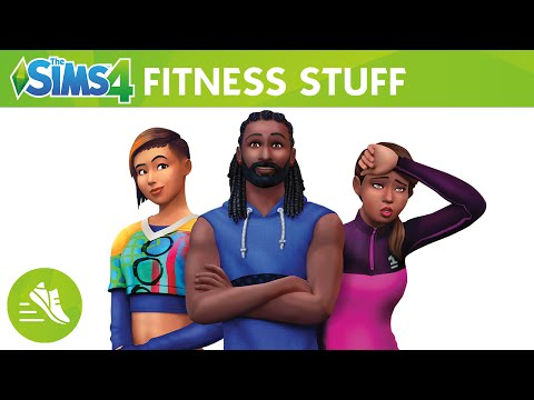 The Sims 4 Fitness Stuff: Official Trailer thumbnail