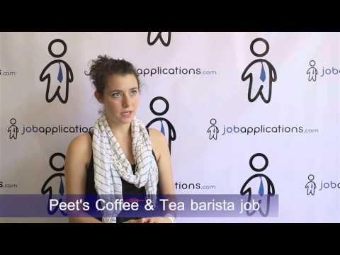 Peet's Coffee & Tea Interview - Barista