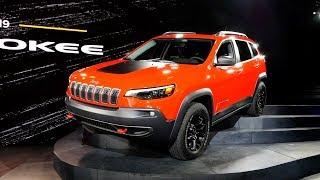 2019 Jeep Cherokee - 2018 Detroit Auto Show
