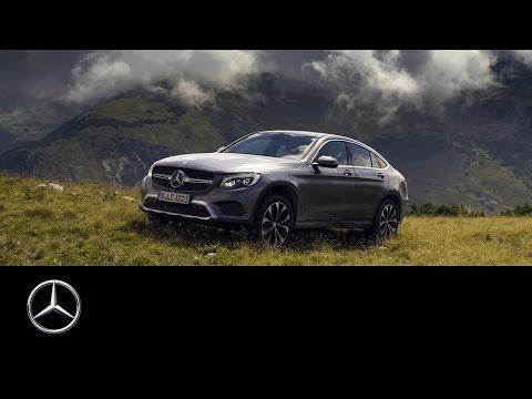 Mercedes Benz  Glc Class Coupe Купе класса J - рекламное видео 3