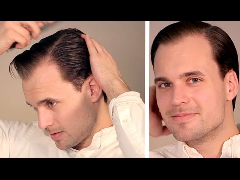 Men's Comb-Over: How to Part Your Hair Perfectly (and Keep It in Place)