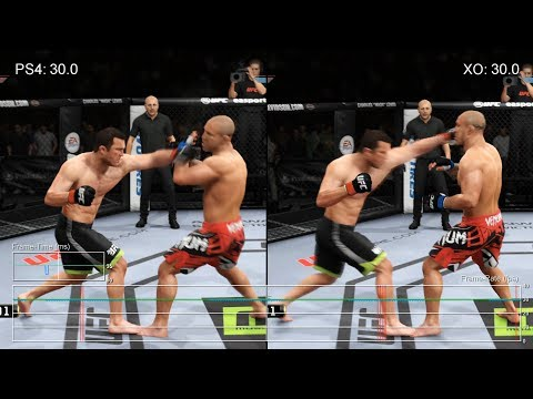 EA Sports UFC – PS4 vs. Xbox One