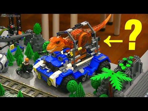 LEGO Jurassic World sets vs. Movie - How'd they do?