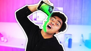 WORST GLOW IN THE DARK SLIME EVER!