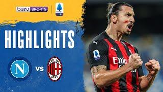 Napoli 1-3 AC Milan Pekan 8
