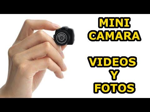 Mini cámara de bolsillo