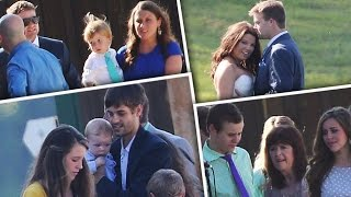Somber Anna Duggar And Family Attend Cousin Amy's Wedding