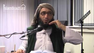 Tafseer of Surah Al-Hujurat (The Dwellings) Part 2/2 - Moutasem Al-Hameedi