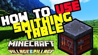smithing table minecraft what does it do - Thủ thuật máy