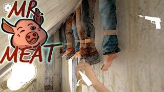 Играем на Сложном режиме! Mr.Meat 1.4.1 Прохождение! Плохая концовка! Horror game - как Гранни