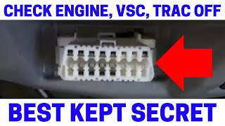 (Part 4) How To Fix Your Check Engine, VSC, Trac Off Warning Lights With Zero Point Calibration