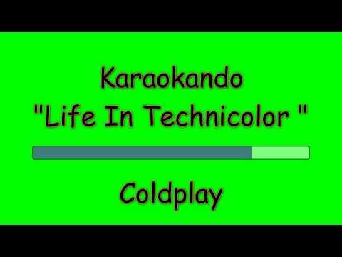 Karaoke Internazionale - Life In Technicolor - Coldplay ( Lyrics )