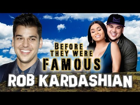 ROB KARDASHIAN - Before They Were Famous - ROB & CHYNA