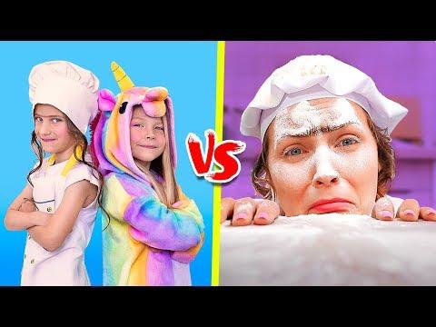 Good Unicorn Makeup Vs Bad Unicorn Makeup Challenge 8 Diy Amazing