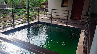 Бассейн для рыбы из бетона