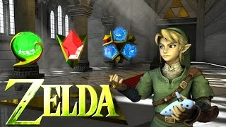 """""""A Temple Of Time""""   3D Animation   Legend Of Zelda   Ocarina Of Time OOT"""