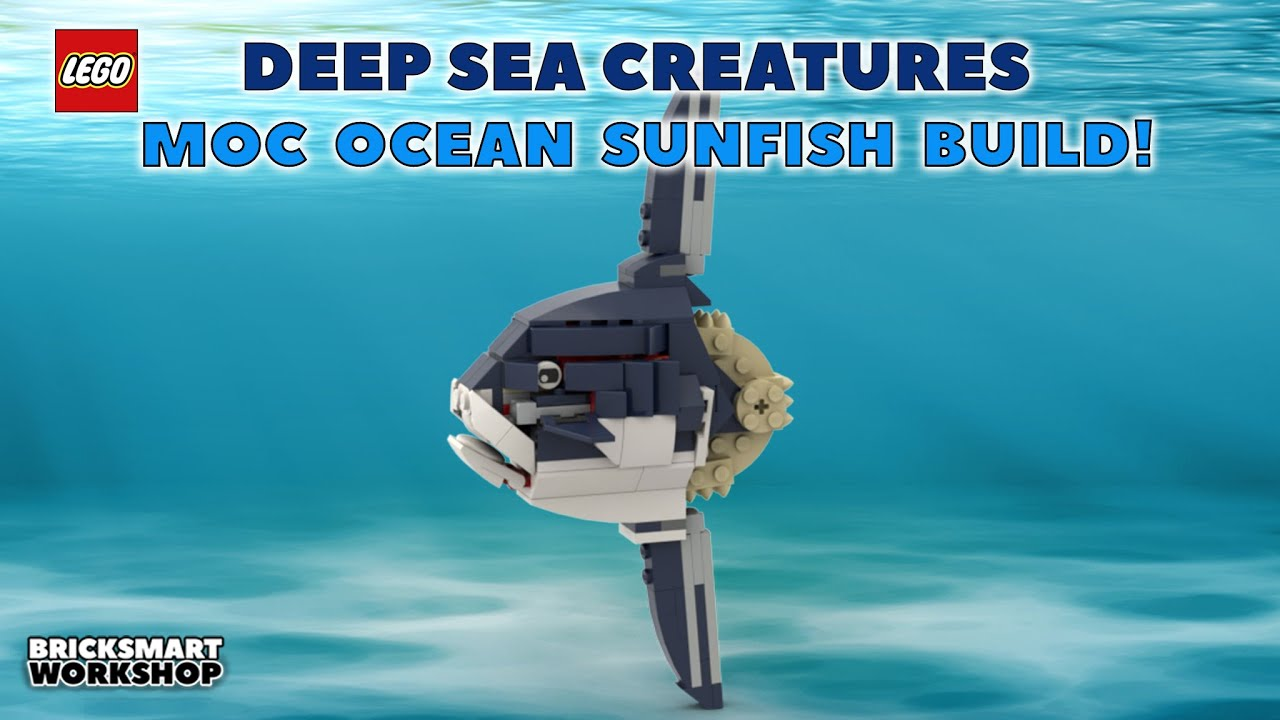LEGO MOC Ocean Sunfish 31088 Alternate Digital Build