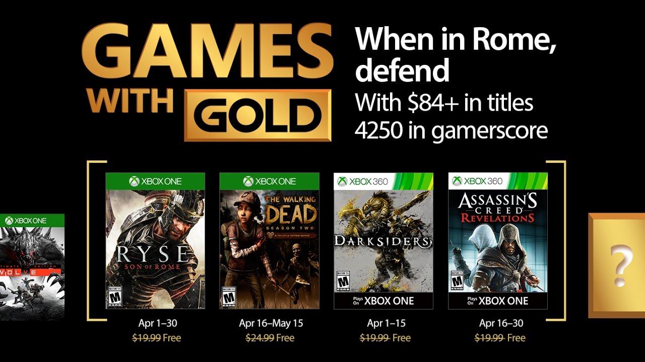 Juegos Gratis De Xbox Live Gold De Abril 2017 Desvelados Noticias