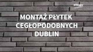 Montaż płytek cegłopodobnych Dublin Stegu (subtitles)