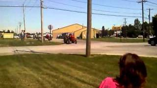 preview picture of video 'Tractor Parade - Perry, NY'