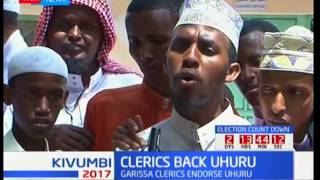 Clerics back President Uhuru as they ask Kenyans to maintain peace