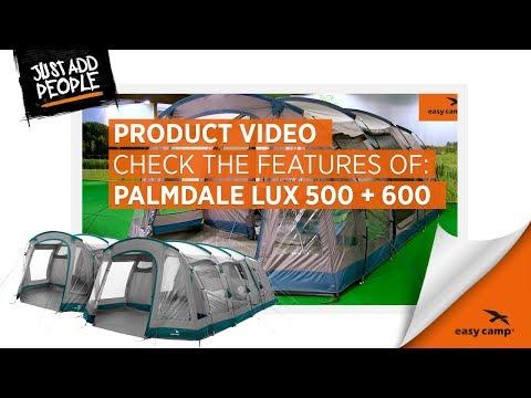 Смотреть видео Палатка Easy Camp Palmdale 500 Lux