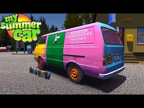 My summer car stealing ruscko