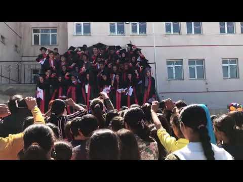 Ağrı İli Tutak ilçesi Dorukdibi Köyü mezuniyet töreni