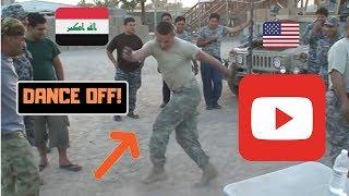 preview picture of video 'IRAQ vs. AMERICA- DANCE OFF'