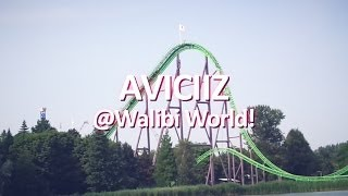 A Day in the Live of AVICIIZ, @Walibi World Holland!