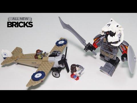 Vidéo LEGO DC Comics Super Heroes 76075 : La bataille de Wonder Woman
