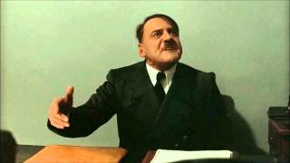 Hitler is informed he's speaking French