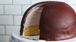 Ice-Cream Cake Bombe • Tasty