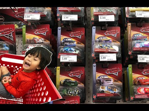 NEW 2018 Disney Cars 3 Diecast CASE Toy Hunt At Target NEXT GEN SHINY WAX METALLIC BOBBY SWIFT