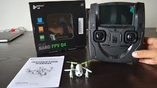 Hubsan H111D Nano Q4 (World's Smallest 5.8GHz FPV Drone) Unboxing