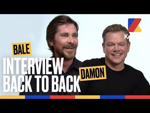 Bale & Damon - La voix de Batman bourré et le prochain film de Christian Bale