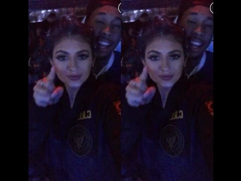 Kylie Jenner Shows Her Love For Tyga at Coachella!
