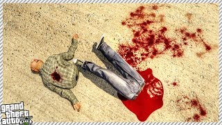 EXTREMELY GORY DISMEMBERMENT IN GTA 5